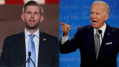 Eric Trump asks people for facts & evidence of fraud, Biden appeals for financial help